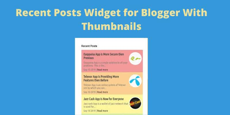 recent-posts-widget-for-blogger-with-thumbnails