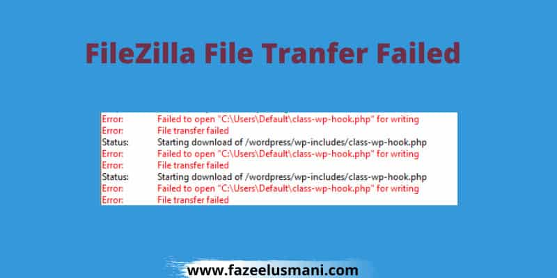 filezilla-file-transfer-failed