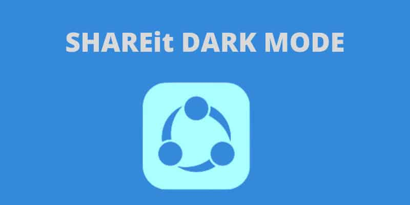 shareit-dark-mode