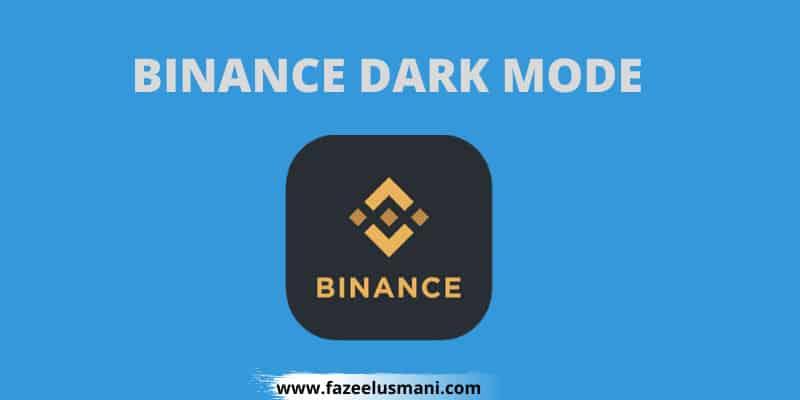 binance-dark-mode