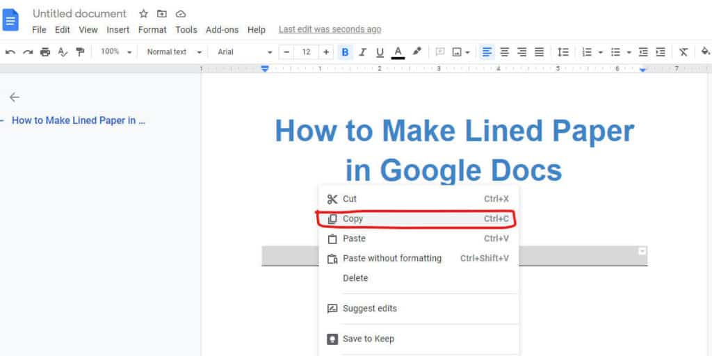 copy-line-to-make-lined-paper-in-google-docs