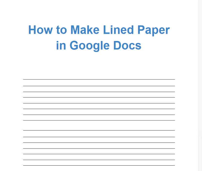 how-to-create-lined-paper-in-google-docs