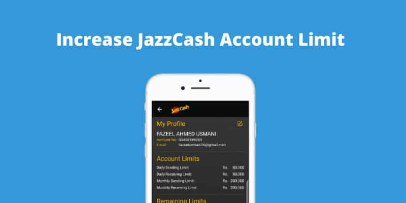 how-to-increase-jazzcash-limit